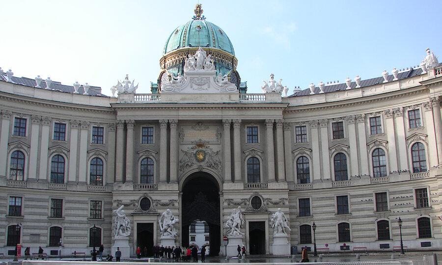 Städtereise Wien – Hofburg