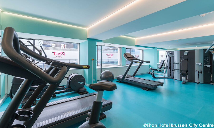 Städtereise Brüssel – Thon Hotel Brussels City Center Fitness