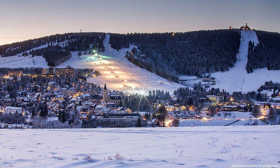 Winter im Erzgebirge – Erzgebirge Fichtelberg im Schnee