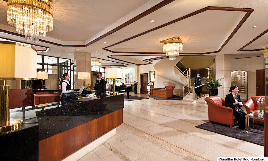 Advent im Taunus – Bad Homburg Maritim Hotel Lobby