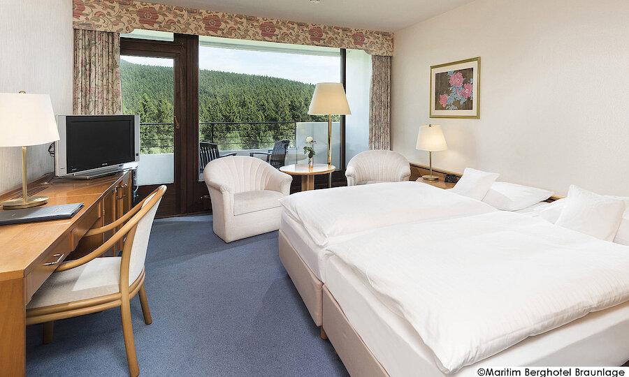 Advent im Harz – Maritim Berghotel Braunlage Zimmer
