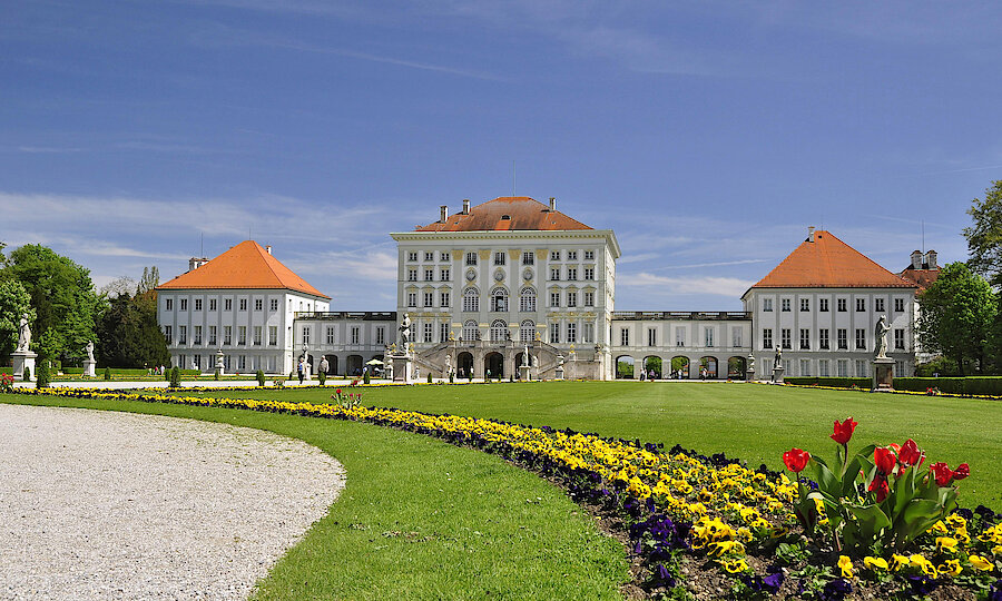 Städtereise München – Schloss Nymphenburg Parkseite ©J.Lutz