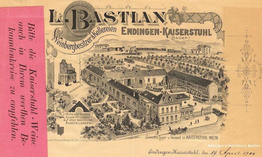 Schwarzwald & badischer Wein – L. Bastian Postkarte