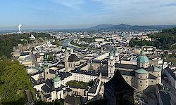 Salzburger Land zum Sommeranfang