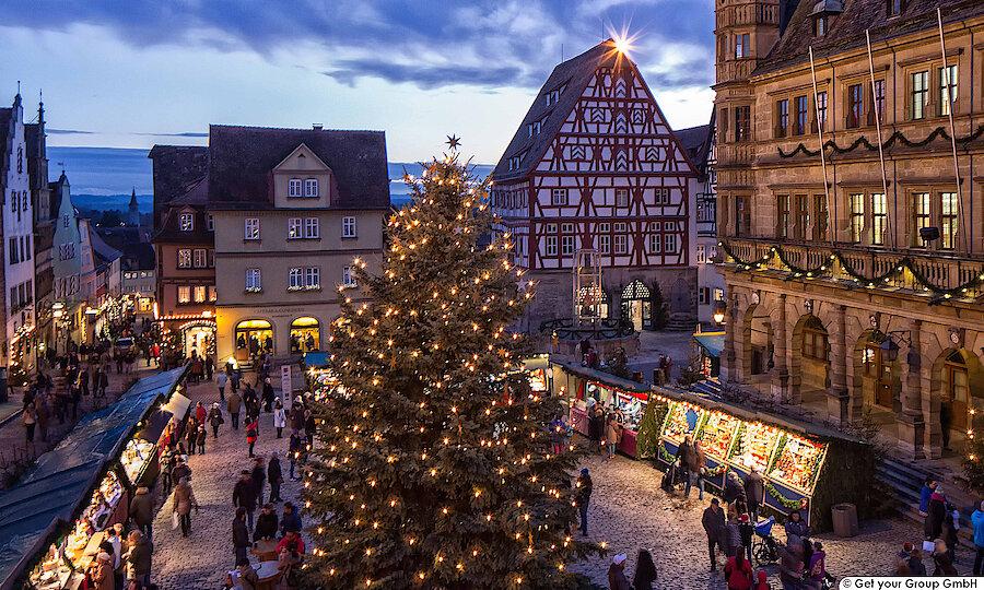 Silvester an der Romantischen Straße – Romantische Straße Rothenburg o.d. Tauber Weihnachtsmarkt