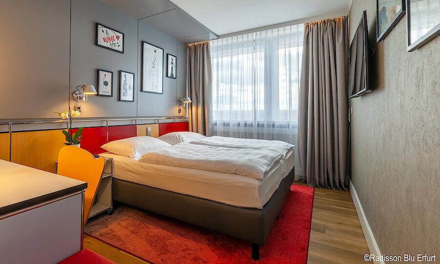 Silvester in Erfurt – Radisson Blu Hotel Erfurt Zimmeransicht