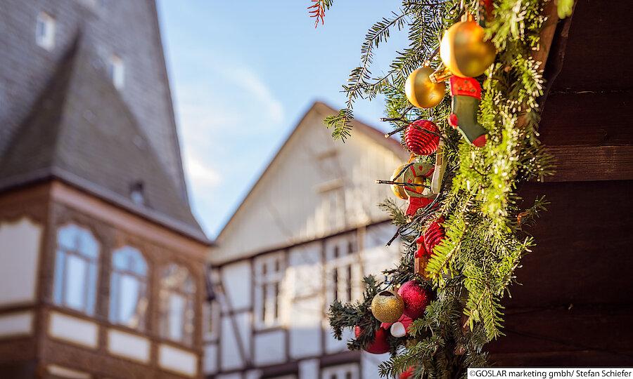 Advent im Harz – Goslar Weihnachtsdeko