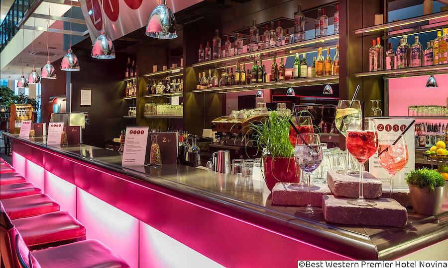 Städtereise Wien – Best Western Premier Hotel Novina Regensburg Bar