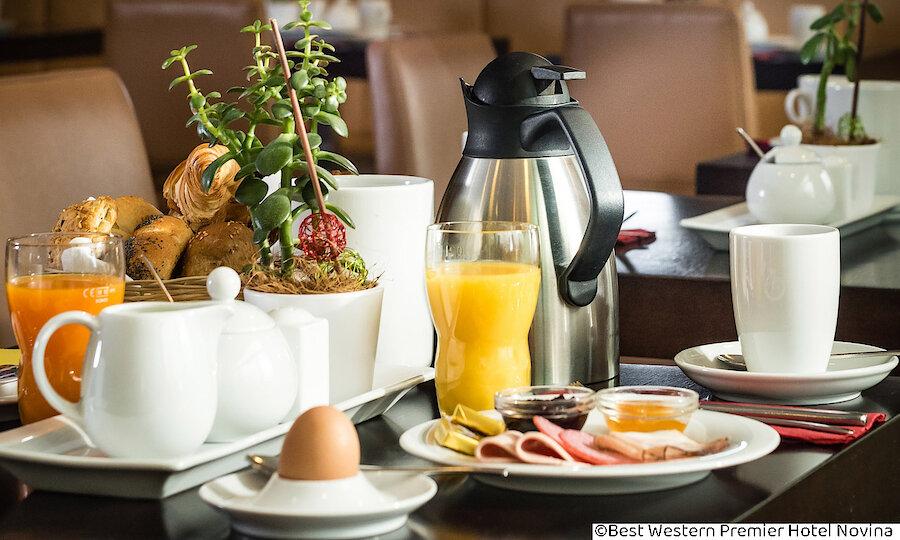 Städtereise Wien – Best Western Premier Hotel Novina Regensburg Frühstück