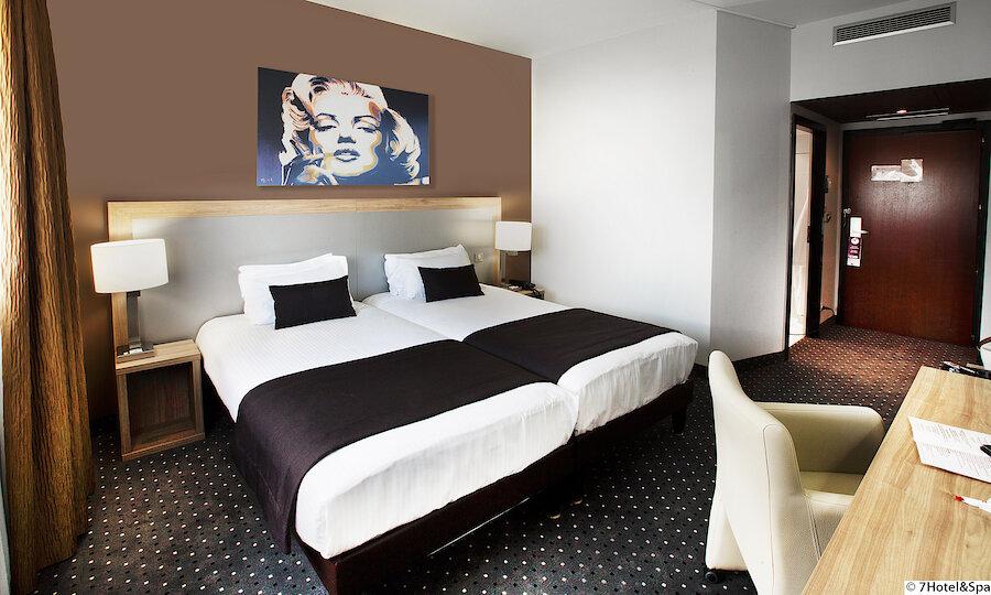 Strasbourg & die Weinstraße – 7 Hotel & Spa Illkirch Zimmer 1