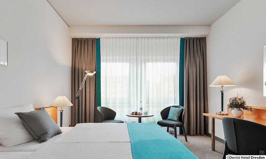 Städtereise Dresden – Dresden Dorint Hotel Zimmer