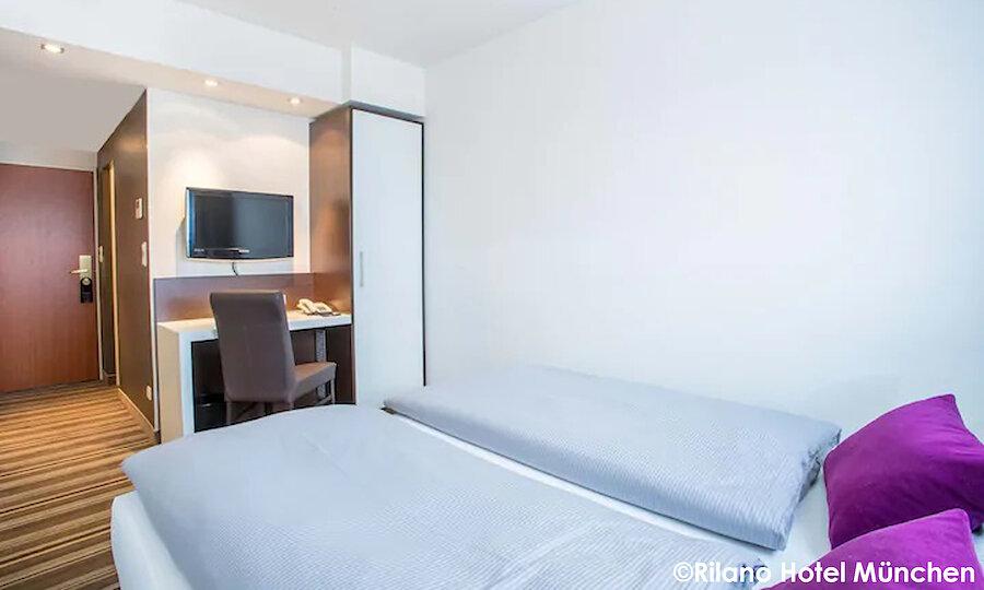 Städtereise München – Rilano 24|7 Hotel München Standard Zimmer
