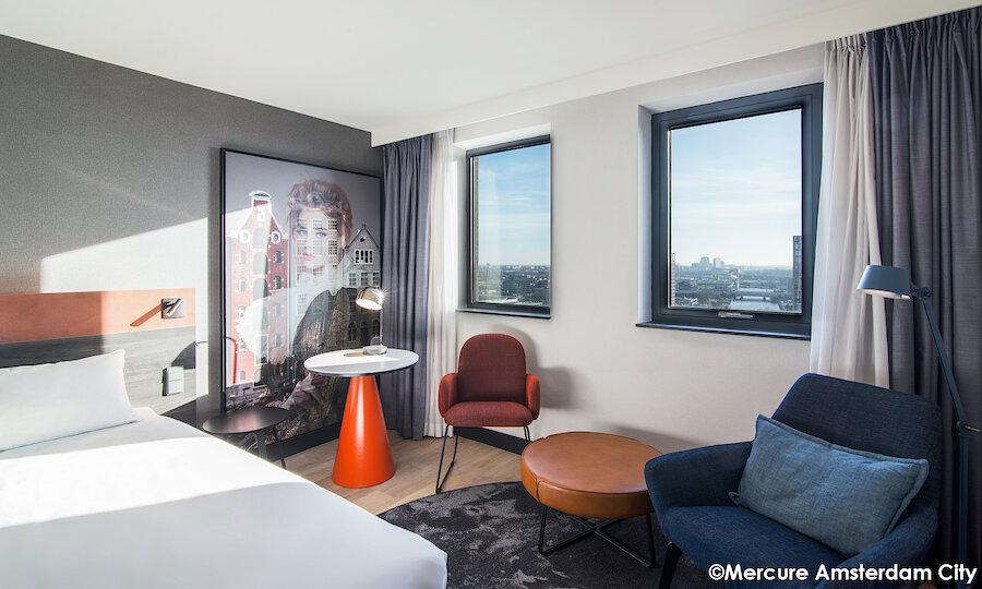 Floriade Expo 2022 – Zimmer Mercure Hotel Amsterdam City