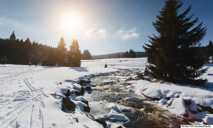 Winter im Erzgebirge – Erzgebirge im Schnee