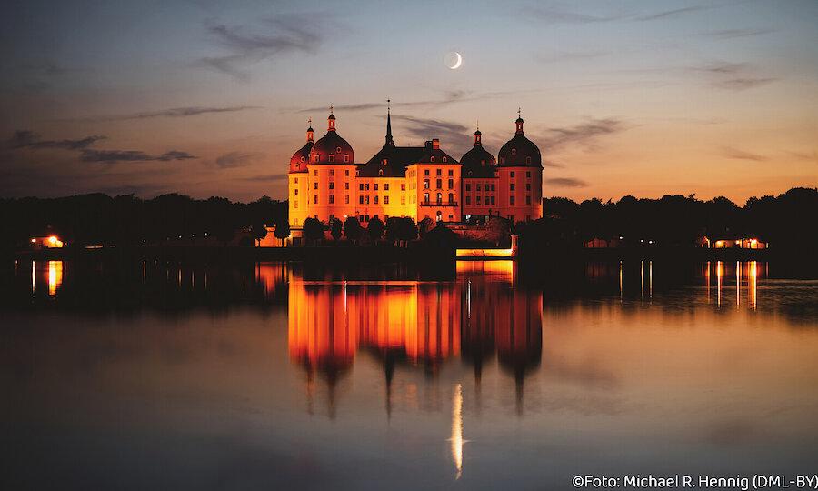 Städtereise Dresden – Schloss Moritzburg