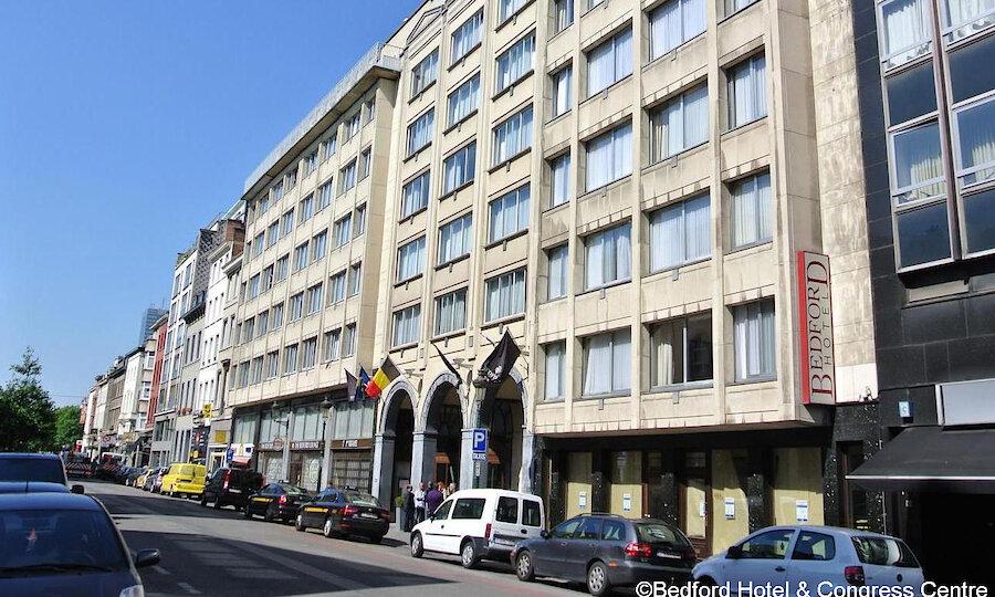 Städtereise Brüssel – Hotel Bedford Außenansicht