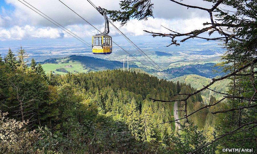 Schwarzwald & badischer Wein – Freiburg Schauinslandbahn