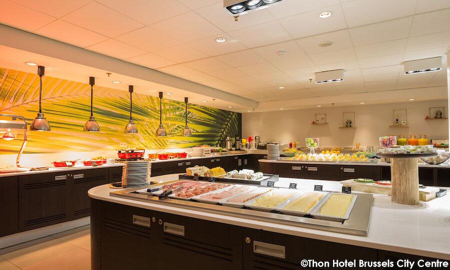Städtereise Brüssel – Thon Hotel Brussels City Center Buffet