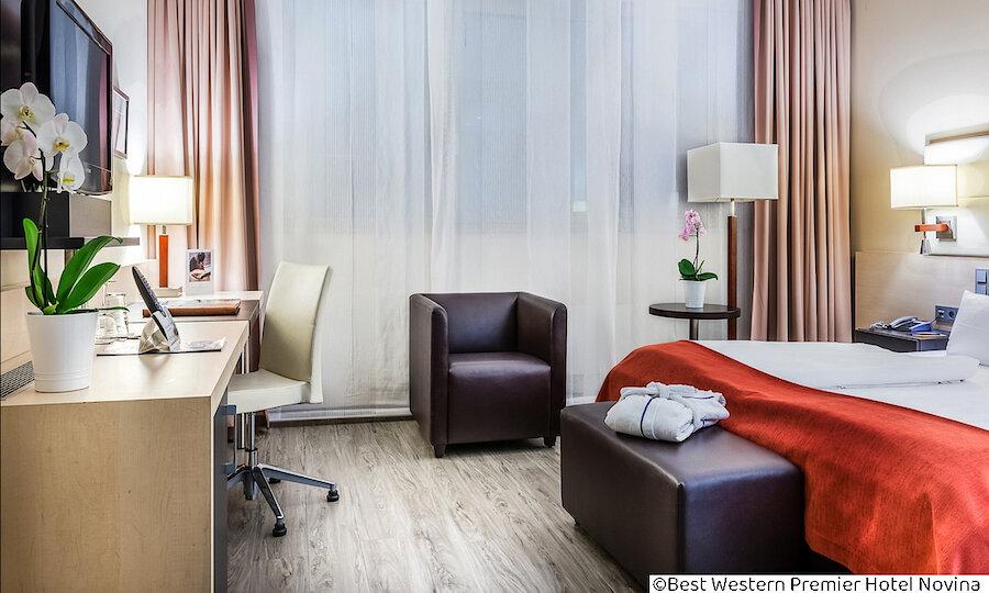 Städtereise Wien – Best Western Premier Hotel Novina Regensburg Zimmer