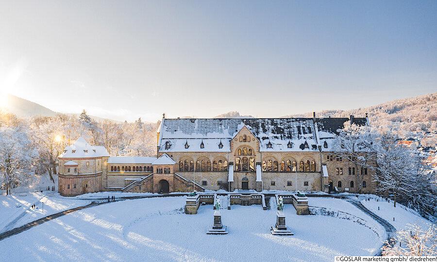 Advent im Harz – Goslar Kaiserpfalz im Winter
