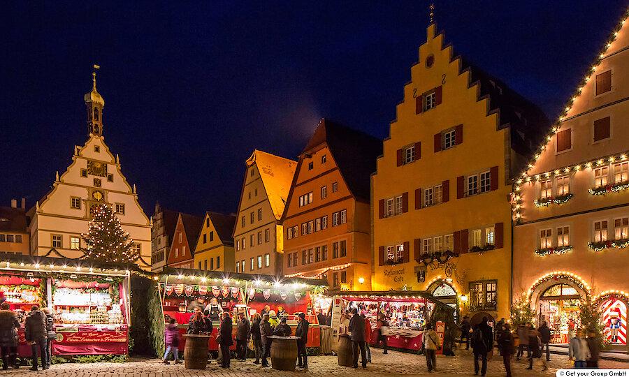 Silvester an der Romantischen Straße – Romantische Straße Rothenburg o.d. Tauber Weihnachtsmarkt 2