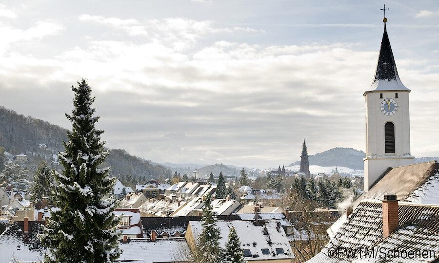 Freiburg Überblick Kirche