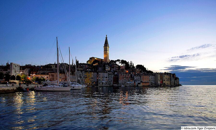 Kroatien Hafenstadt Rovinj