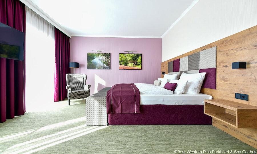 Zwischen Kultur, Natur & Folklore – Best Western Plus Parkhotel & Spa Cottbus Doppelzimmer