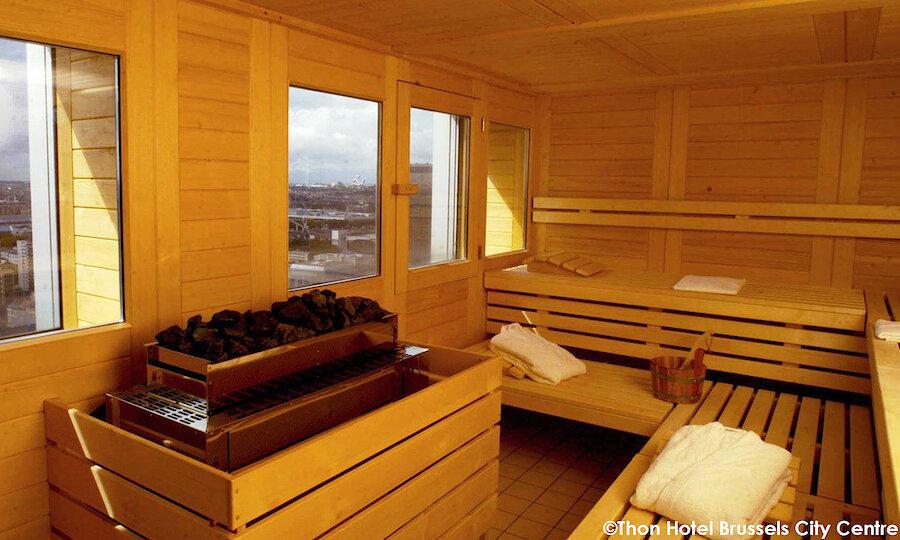 Städtereise Brüssel – Thon Hotel Brussels City Center Sauna