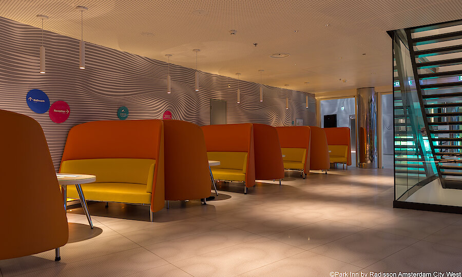 Städtereise Amsterdam – Park Inn by Radisson Amsterdam City West Lobby