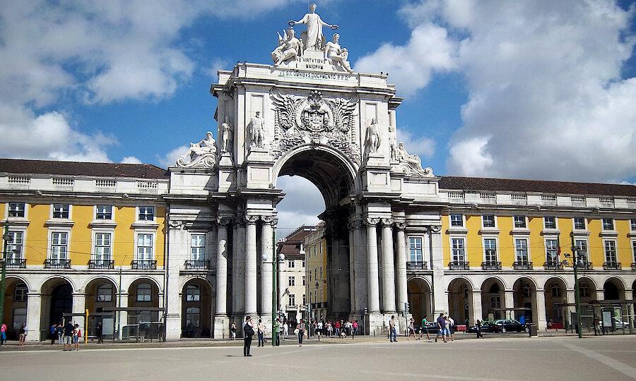 Flugreise - Portugal-Rundreise – Lissabon Praça do Comércio