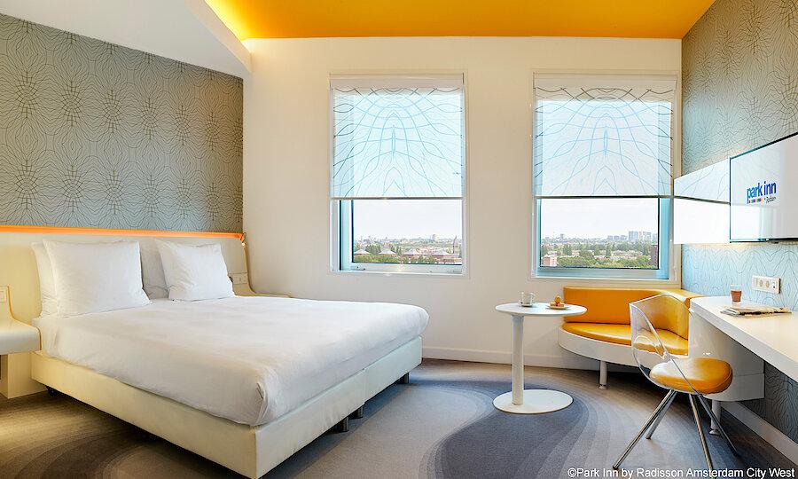 Städtereise Amsterdam – Park Inn by Radisson Amsterdam City West Zimmer