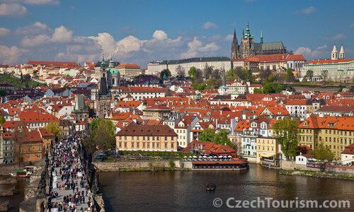 Prag Stadtpanorama