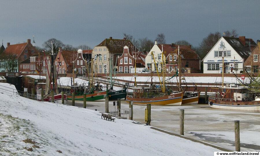 Weihnachten in Ostfriesland – Greetsiel im Winter