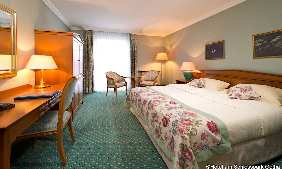Bundesgartenschau 2021 – Hotel Am Schlosspark Gotha Doppelzimmer 1