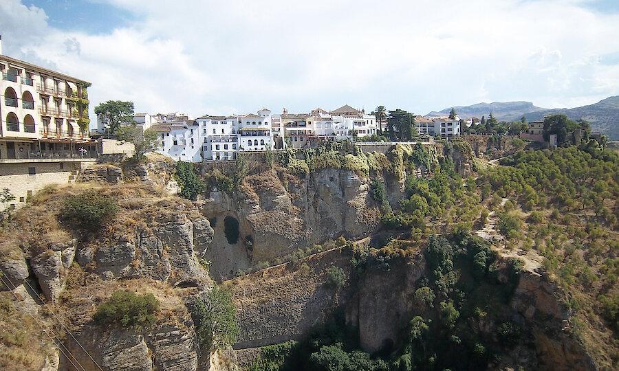Flugreise - Andalusien-Rundreise – Ronda Stadtpanorama