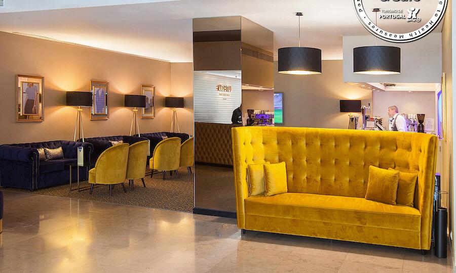 Flugreise - Portugal-Rundreise – Hotel Lutecia - Lobby-1