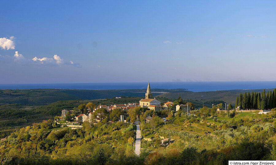 Urlaubsreise Kroatien – Kroatien Groznjan