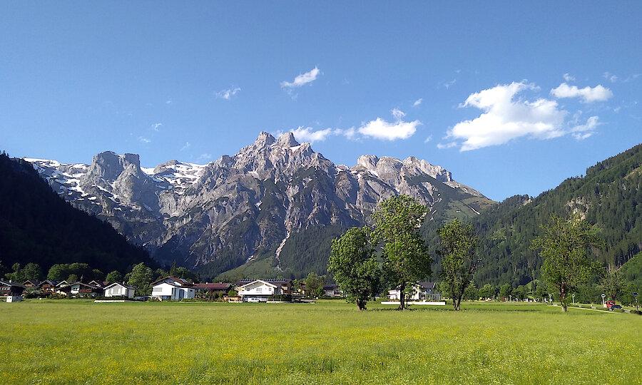 Salzburger Land im Sommer oder Herbst