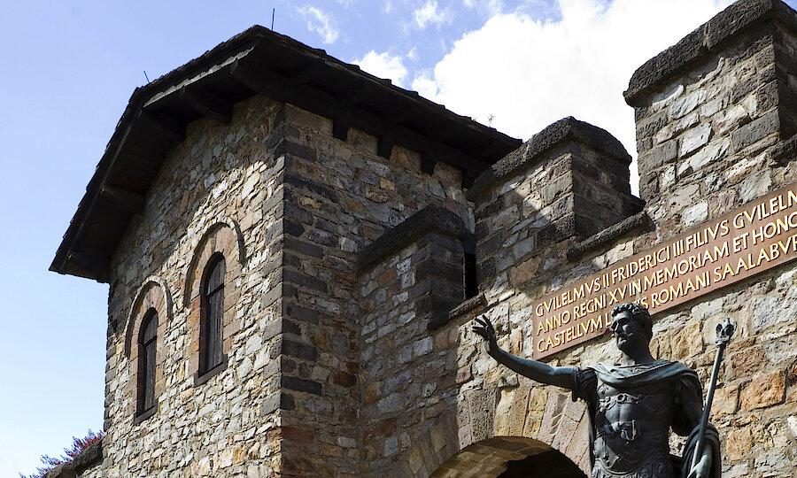 Advent im Taunus – Römerkastell Saalburg, Bad Homburg ©Taunus Touristik Service e.V.