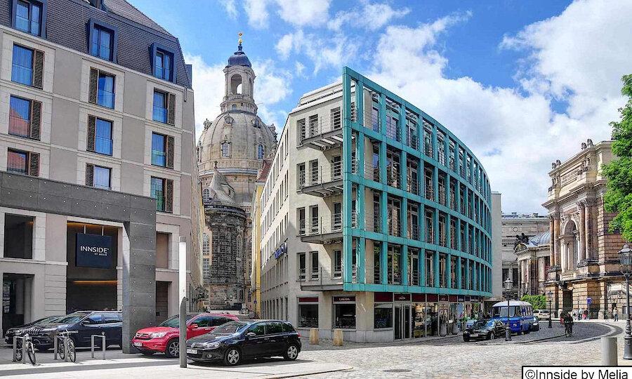 Städtereise Dresden – Innside by Melia Dresden Außenansicht