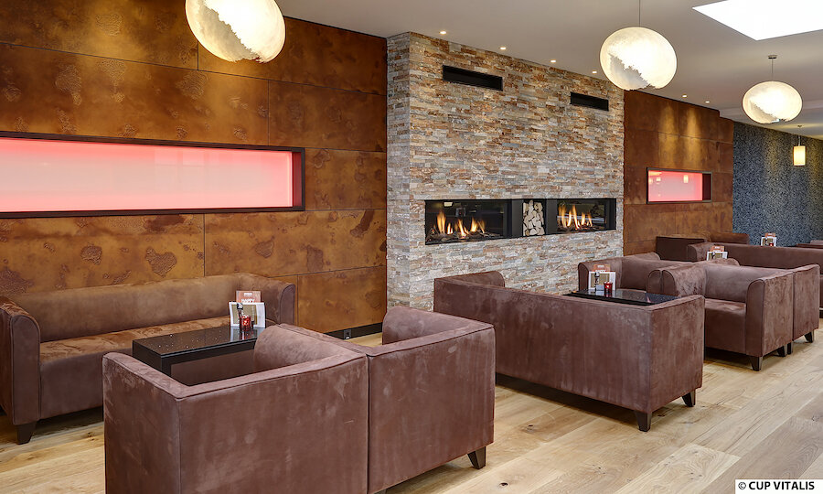 Erholung pur in Bad Kissingen – Parkhotel Cup Vitalis Bad Kissingen Kamin-Lounge