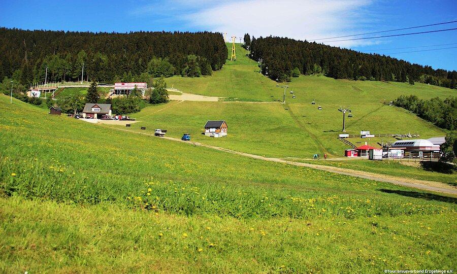 Frühling im Erzgebirge – Erzgebirge Fichtelberg