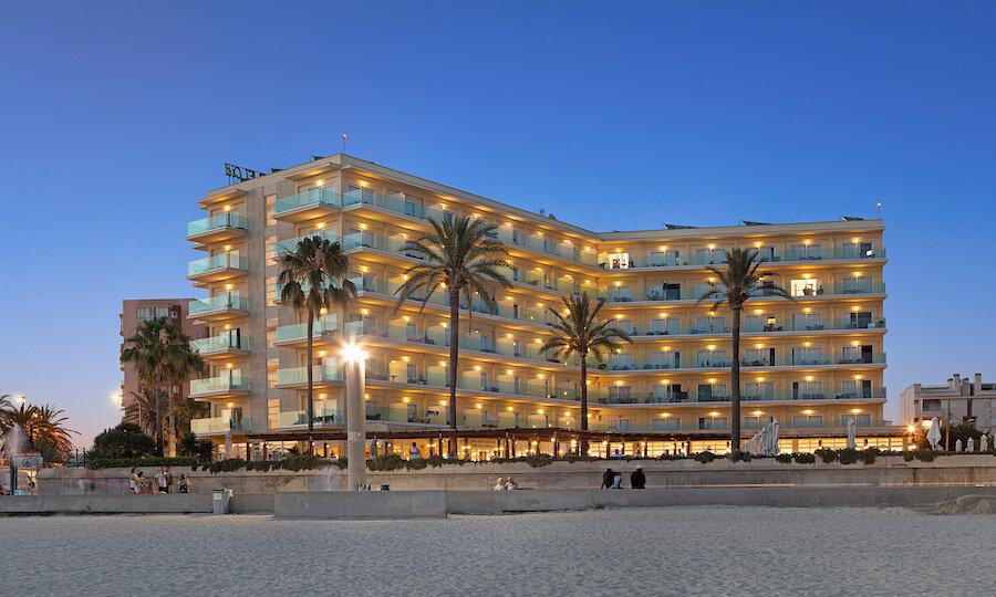 Flugreise - Mallorca zur Mandelblüte – Hotel El Cid Playa de Palma Außenansicht