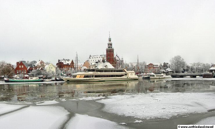 Weihnachten in Ostfriesland – Leer im Winter