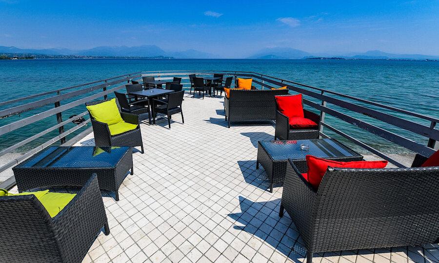 Lugana Weinreise Gardasee – Loungeecke Hotel