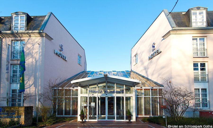 Bundesgartenschau 2021 – Hotel Am Schlosspark Gotha Außenansicht