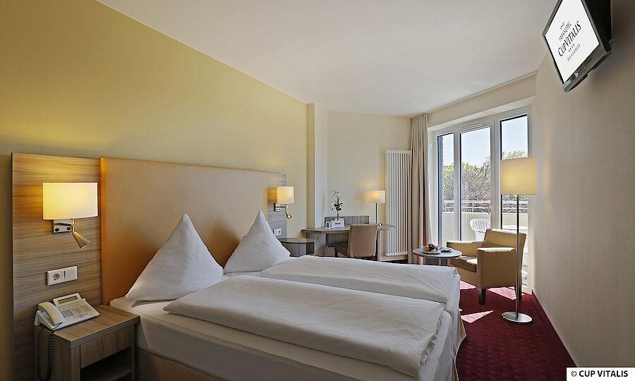 Erholung pur in Bad Kissingen – Parkhotel Cup Vitalis Bad Kissingen Zimmer