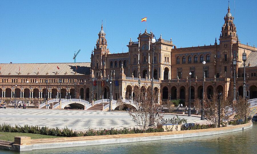 Sevilla Plaza de España 2