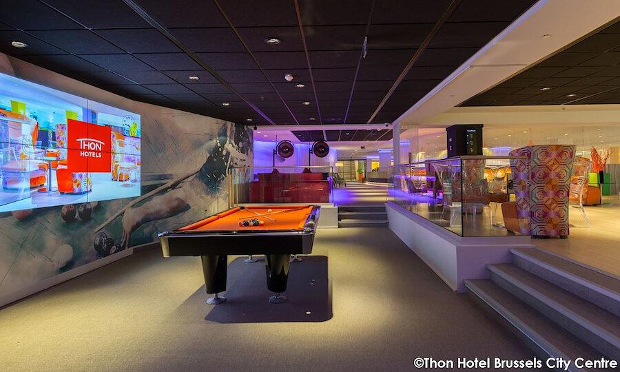 Städtereise Brüssel – Thon Hotel Brussels City Center Bar-2